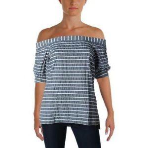 ✨Ralph Lauren Linen/Cotton Off Shoulder Top✨